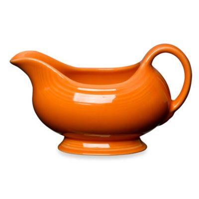 Fiesta® Sauce Boat in Tangerine