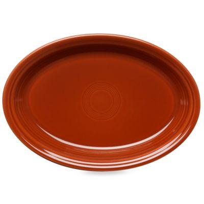 Fiesta® 13.6-Inch Oval Platter in Paprika
