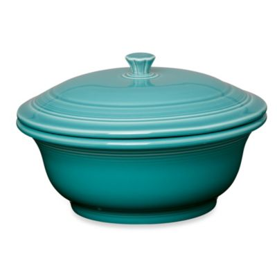 Fiesta® Covered 70-Ounce Casserole Dish in Turquoise