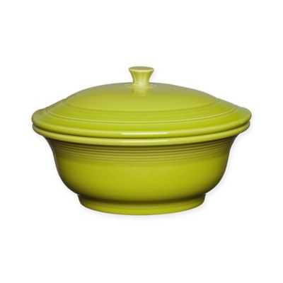 Fiesta® 70-Ounce Covered Casserole Dish in Lemongrass