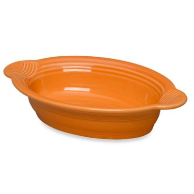 Fiesta® 17 oz. Oval Individual Casserole Dish in Tangerine