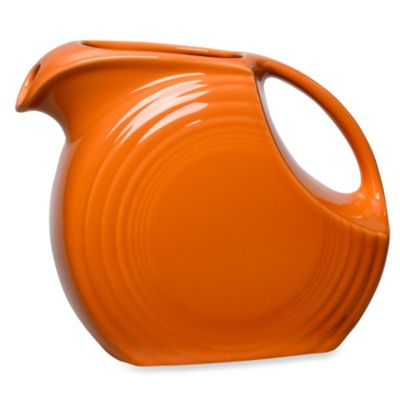 Fiesta® Large Pitcher in Tangerine