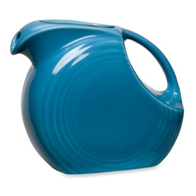 Fiesta® Large Pitcher in Peacock