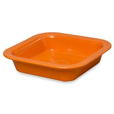 Fiesta® 9-Inch Square Baker in Tangerine