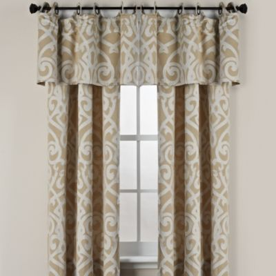 Pennington Round Grommet 63-Inch Window Curtain Panel in Chocolate