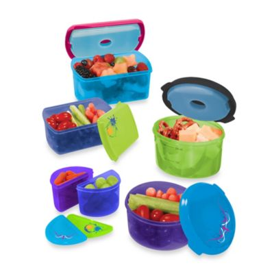 Fit & Fresh® Kid's Container Set with Removable Ice Packs (Set of 14)