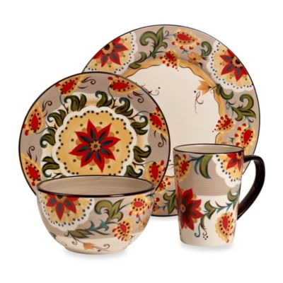 Tabletops Unlimited® Misto Odessa 4-Piece Round Place Setting
