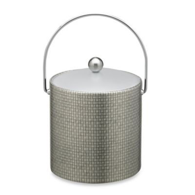 Cobblestone 3-Quart Ice Bucket in Slate