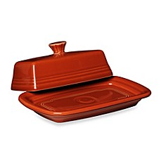 Fiesta® Extra-Large Covered Butter Dish in Paprika