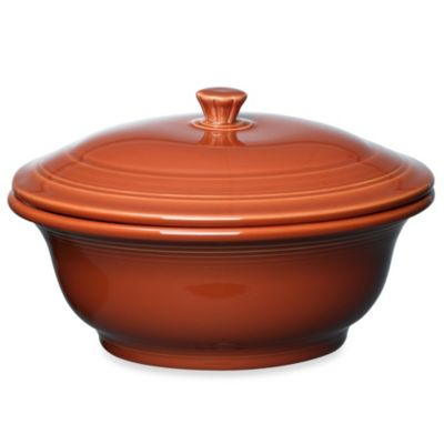Fiesta® Covered 70-Ounce Casserole Dish in Paprika