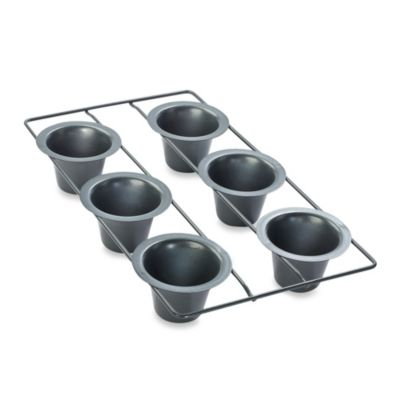 Chicago Metallic Professional Popover Pan with Armor-Glide Coating