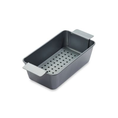 Chicago Metallic™ Professional Healthy Meatloaf Pan Set with Armor-Glide Coating