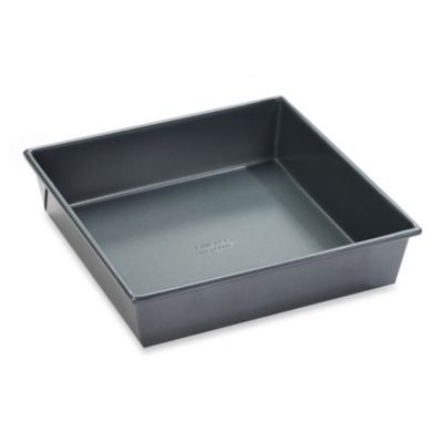 Chicago Metallic Professional 9-Inch Square Cake Pan with Armor-Glide Coating
