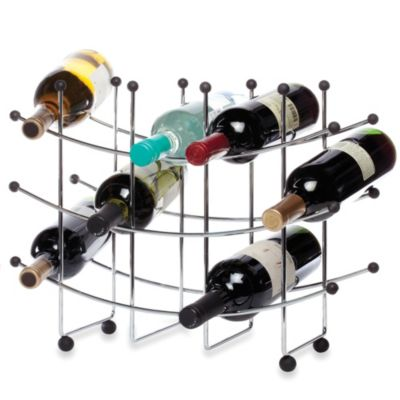 Metallic Bar Wine Racks