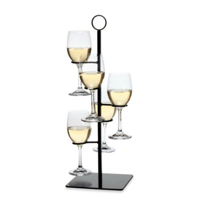 Oenophilia Amelia Flight Stemware Server