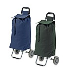 Drive Medical Lifestyle Essentials Rolling Shopping Cart with Bag