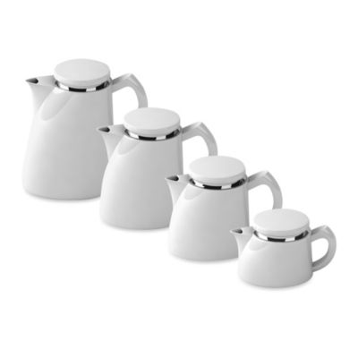 Sowden Softbrew™ Coffee Makers with Stainless Steel Microfilter in White