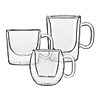 Luigi Bormioli Double-Wall Glass Espresso Cups