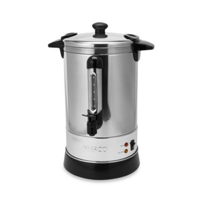 Nesco® 30-Cup Stainless Steel Double Wall Insulated Electric Coffee Urn