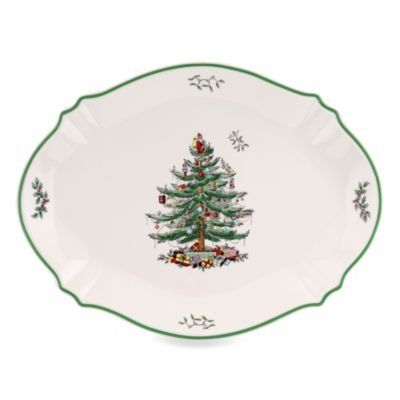 Dishwasher Safe Tree Platter
