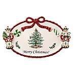 Spode® Christmas Tree 12.25-Inch Peppermint Figural Nutcracker Cracker Dish