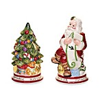Spode® Christmas Tree 4.25-Inch Christmas Tree & Santa Salt & Pepper Shaker Set