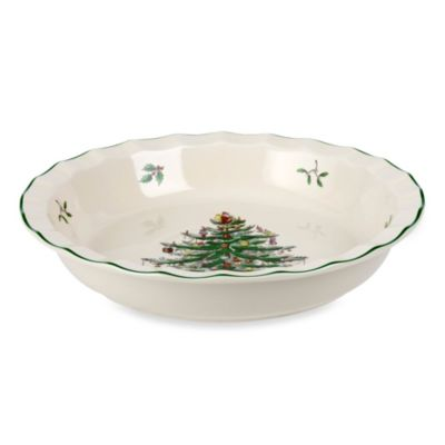 Spode® Christmas Tree 10-Inch Pie Dish