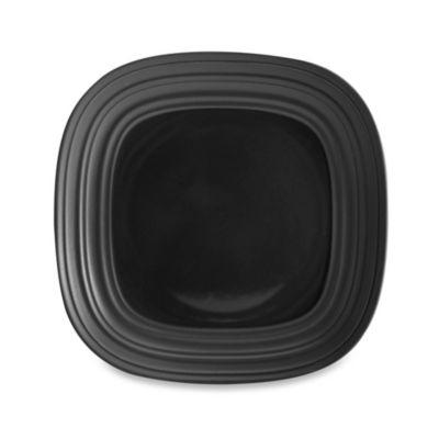 Mikasa® Swirl 8-1/2-Inch Square Salad Plate in Graphite