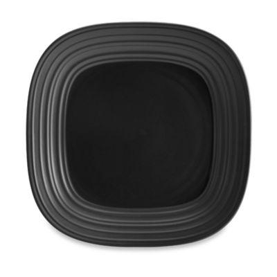 Mikasa® Swirl 10-3/4-Inch Square Dinner Plate in Graphite