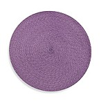 Indoor/Outdoor 15-Inch Round Placemat in Lavender