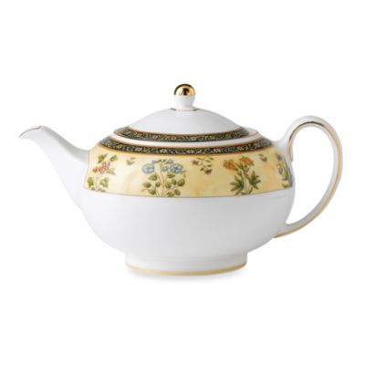 Wedgwood(R) India 9.25-Inch Teapot