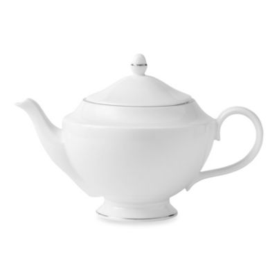 Wedgwood® Signet Platinum Teapot
