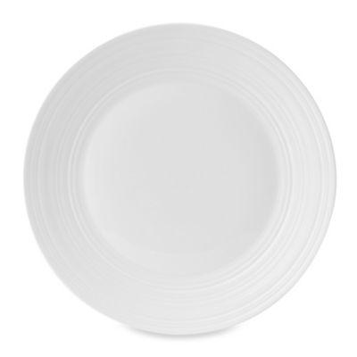 Wedgwood® Jasper Conran White Swirl 10.7-Inch Dinner Plate