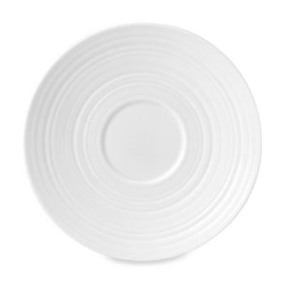 Wedgwood® Jasper Conran White Swirl Tea Saucer