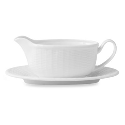 Nantucket Basket Gravy Boat