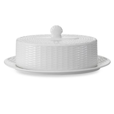 Wedgwood® Nantucket Basket Covered Butter Dish
