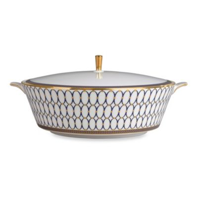 Wedgwood® Renaissance Gold Covered Vegetable Bowl
