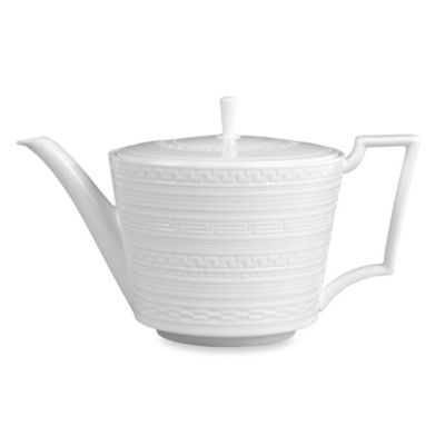 Wedgwood® Intaglio 32-Ounce Teapot