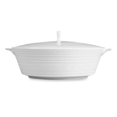 Wedgwood® Intaglio Covered Vegetable Bowl