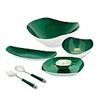 Simply Designz Bodoni Dinnerware Collection in Emerald