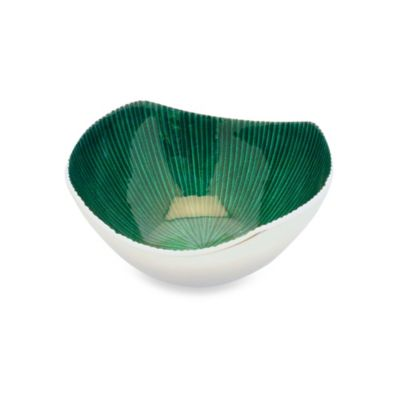 Simply Designz 5-Inch Bodoni Bowl in Emerald