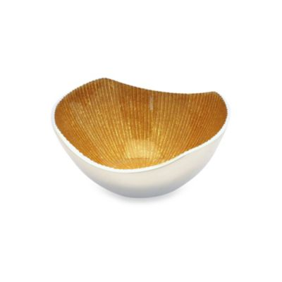 Simply Designz 5-Inch Bodoni Bowl in Gold