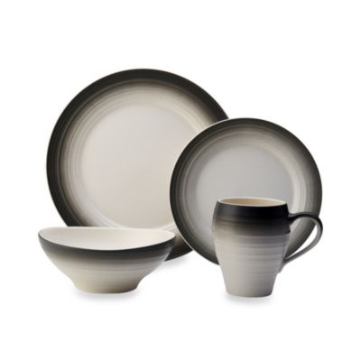 Mikasa® Swirl 4-Piece Place Setting in Ombre