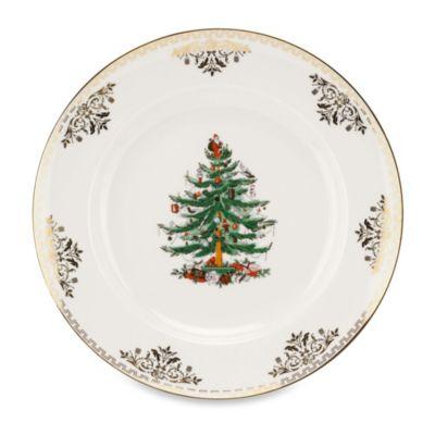 Spode® Christmas Tree Gold Salad Plate