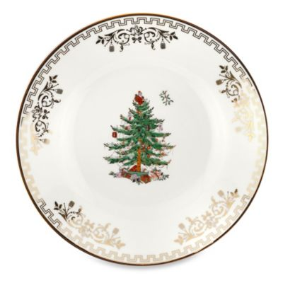 Spode® Christmas Tree Gold Bread and Butter Plate