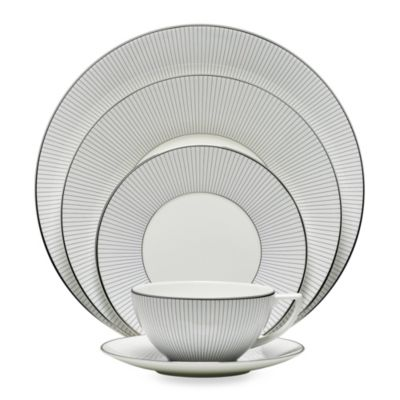 Wedgwood® Jasper Conran 5-Piece Place Setting in Blue Stripe