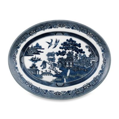 Johnson Brothers Willow Blue 13 3/4-Inch Platter