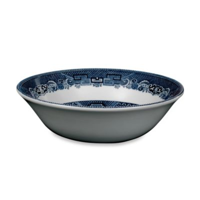 Johnson Brothers Willow Blue Round Vegetable Bowl