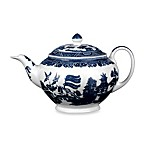 Wedgwood® Johnson Brothers Willow Blue Teapot
