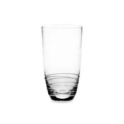 Mikasa® Swirl White 20-Ounce Highball Glass